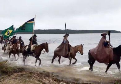 Cavalgada da Chama Crioula segue com roteiro por Palmares e Capivari do Sul
