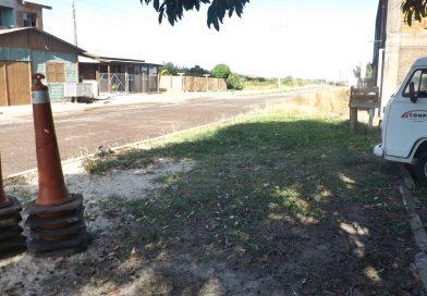 Reiniciam obras da Avenida Palmares no bairro Agreste