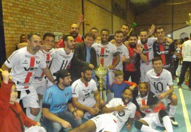 Mercenários é campeão municipal de futsal 2019
