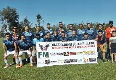 Mercenários é campeão municipal de futebol