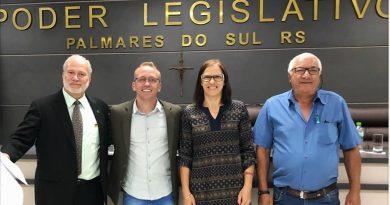 Vereador Polon presidirá a Câmara de Palmares do Sul em 2020 e deverá retomar com sessões nos distritos