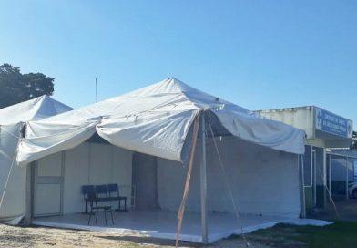 Atendimentos de suspeitos de Covid na Sede voltam a ser feitos em tenda